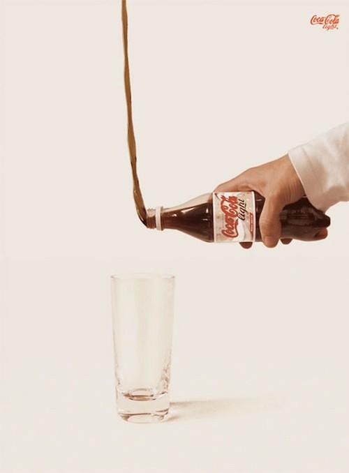 Plakat reklamowy Coca cola