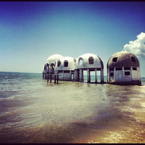 Opuszczone domy igloo na Florydzie