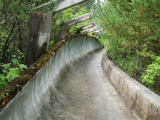 Tor bobslejowy w Sarajewie
