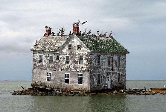 Ostatni dom na wyspie Holland w USA