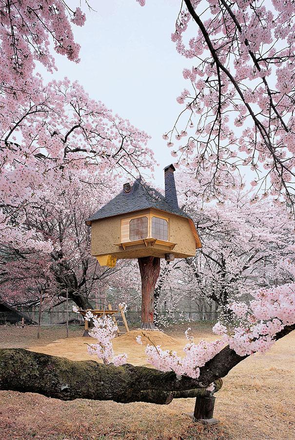 Teahouse Tetsu in Yamanashi, Japan