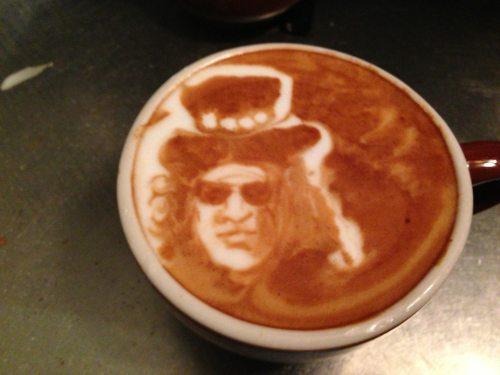 Rysowanie po kawie
