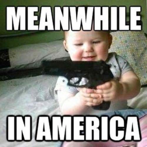 Malec z pistoletem