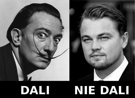 Salvador Dali i Leo Di Caprio