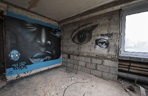 Graffiti hotel