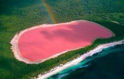 Różowe Jezioro Hillier
