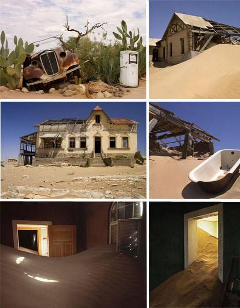 Kolmanskop opuszczone miasto