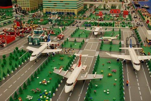 Lotnisko z LEGO