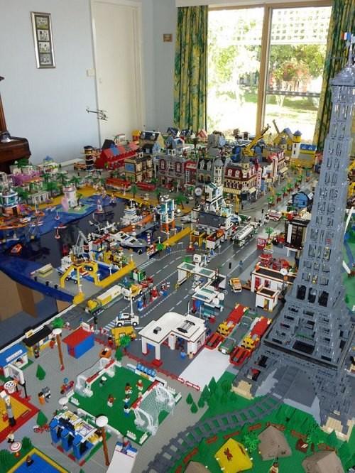 Miasteczko z LEGO