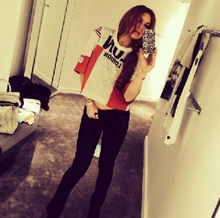 """Lindsay Lohan """"sweet focia"""""""