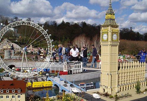 London Eye zbudowane z klocków Lego