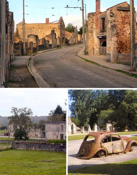 Oradour opuszczone miasto