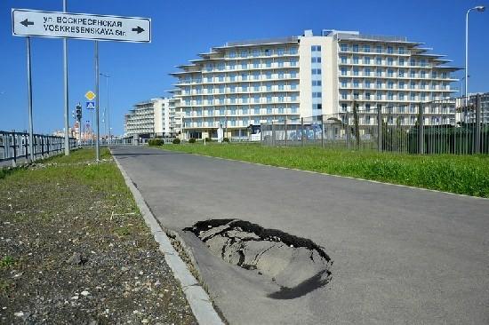 Jak wygląda Sochi miesiąc po zakończeniu Igrzysk