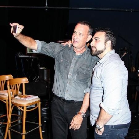 """Tom Hanks """"sweet focia"""""""