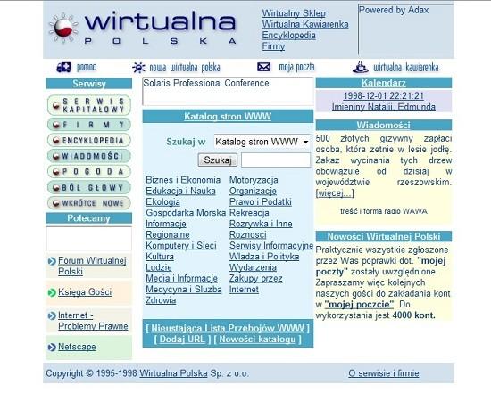 Wp w 1998 roku
