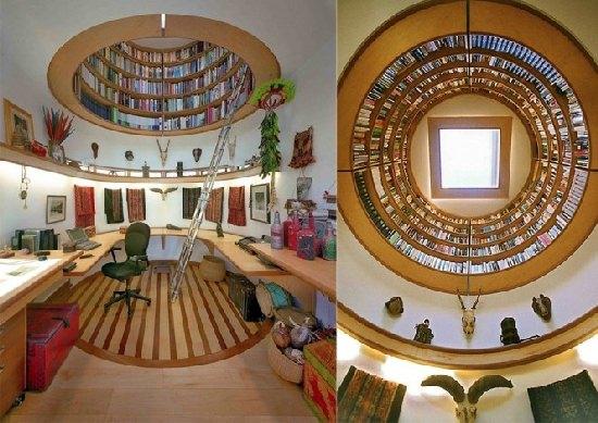 Biuro i biblioteczka