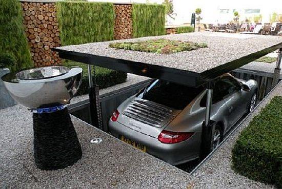 Ukryty garaż