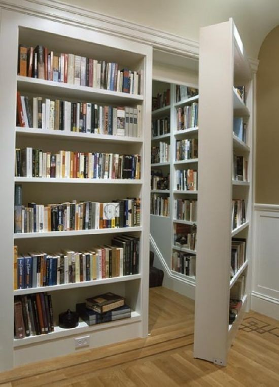 Tajemniczy pokój z mnóstwem książek