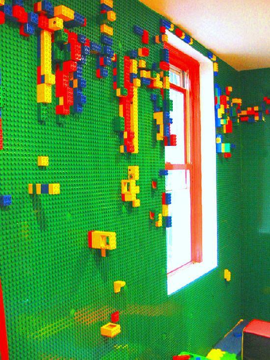Ściany z lego zamiast zwykłych - wymarzony dom