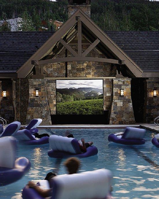 Wymarzony dom - kino i basen