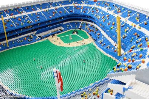 Stadion Bejsbolowy z LEGO