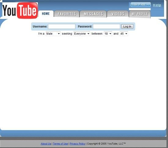 Youtube 2004 rok