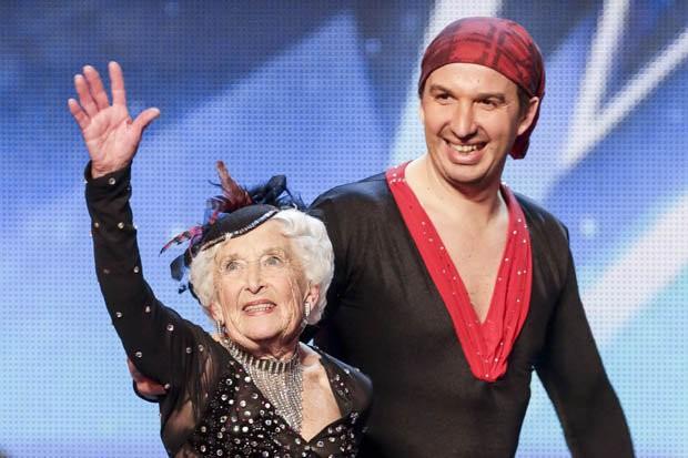 Babcia zachwyciła jurorów w mama talent