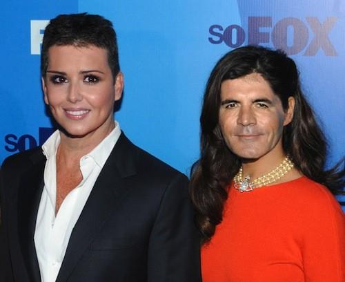Cheryl Cole i Simon Cowell