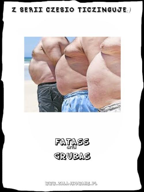 Grubasy- fatass