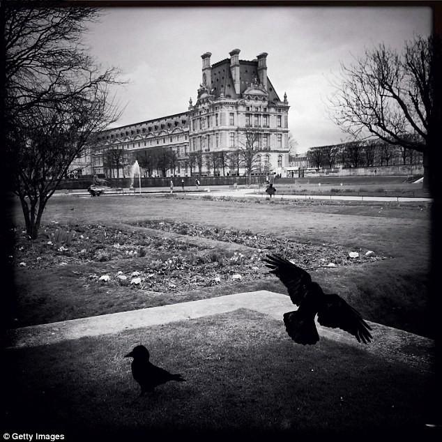 Czrno-białe zdjęcia Paryża