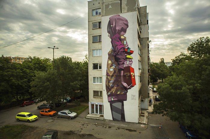 mural niespodzianka bułgaria