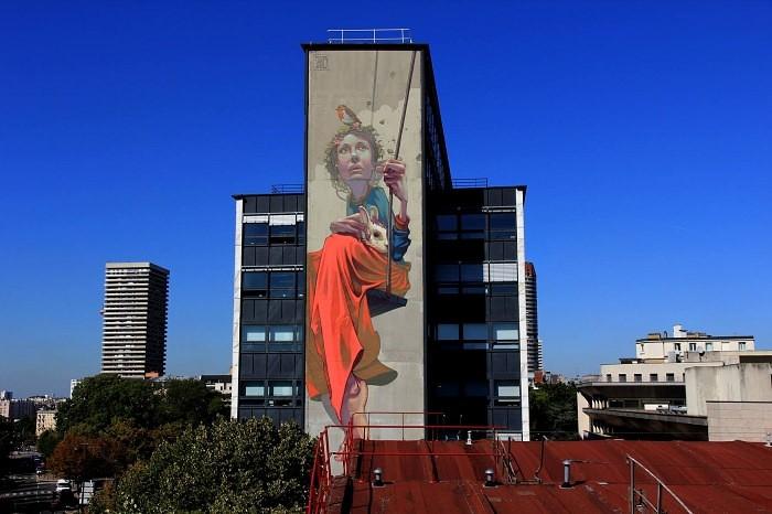 mural paryż