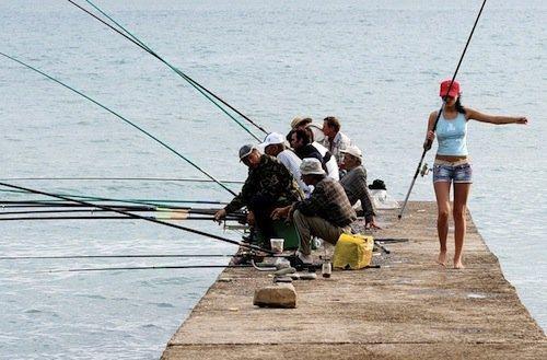 Jedziemy na ryby z pięknymi kobietami