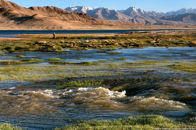 Jezioro Karakul w Tadżykistanie