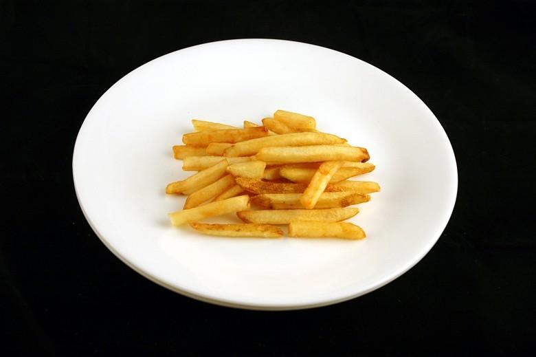 jak wygląda 200 kalorii - frytki