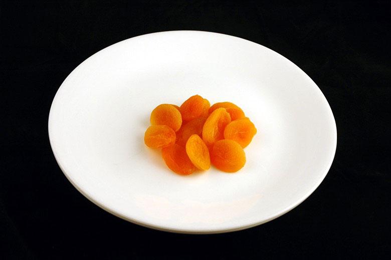 jak wygląda 200 kalorii - morele