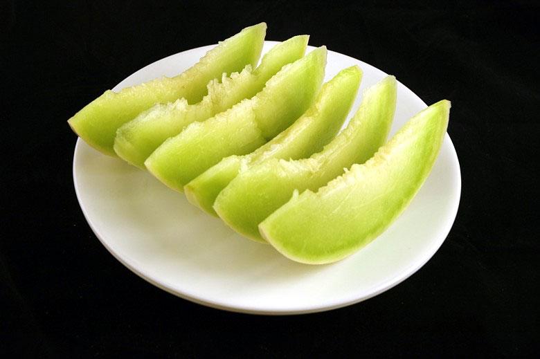 jak wygląda 200 kalorii - melon