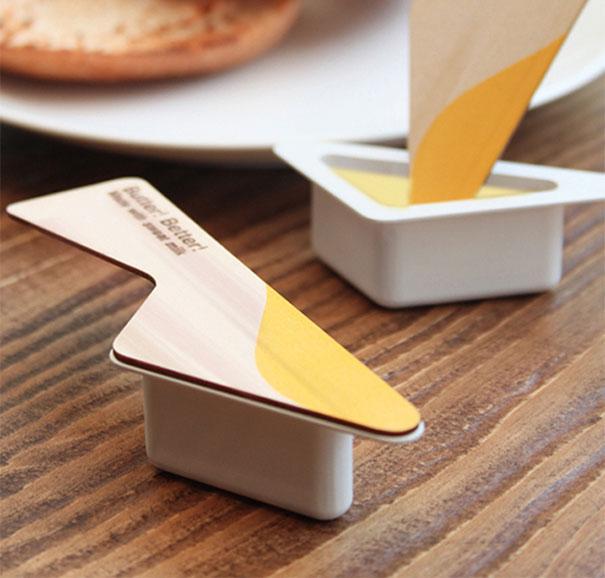 niezwykłe opakowania masło