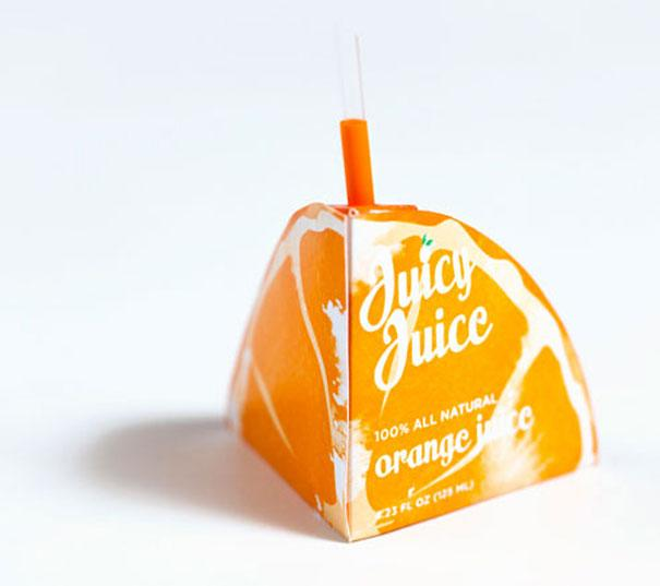 niezwykłe opakowania sok pomarańczowy