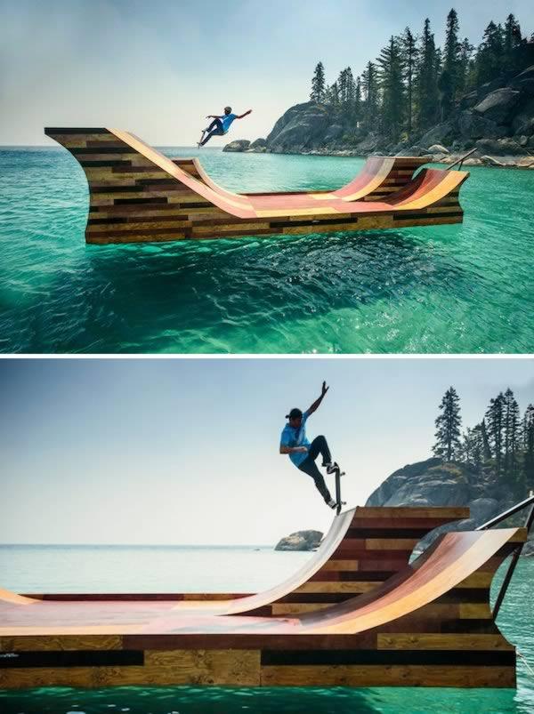 Pływający Skate Park