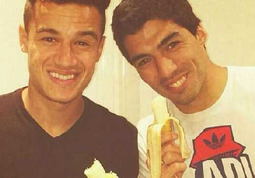 Suarez i Coutinho przeciw rasizmowi