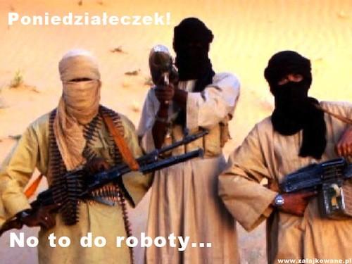 Poniedzialkowi terrorysci