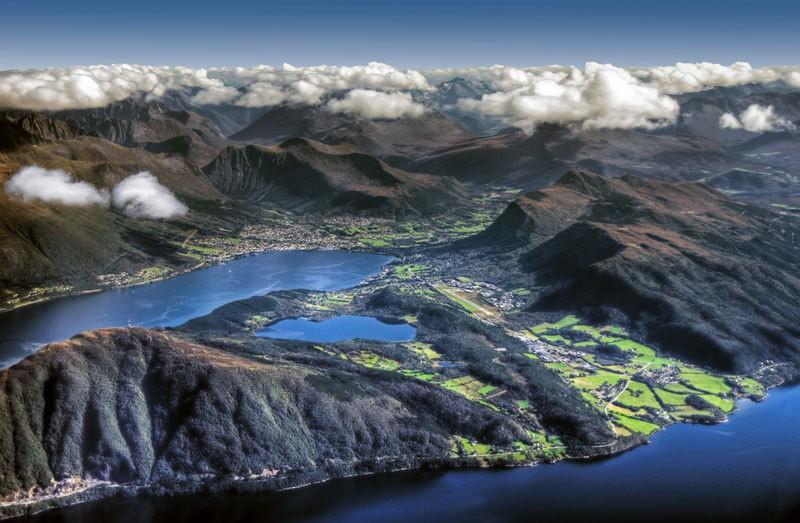widok Norwegii