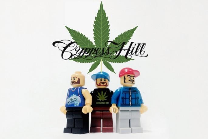 Cypres Hill z Lego