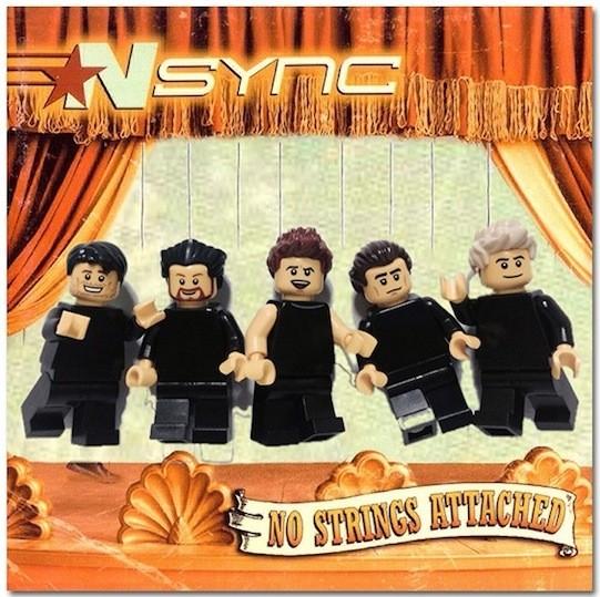 Nsync z Lego