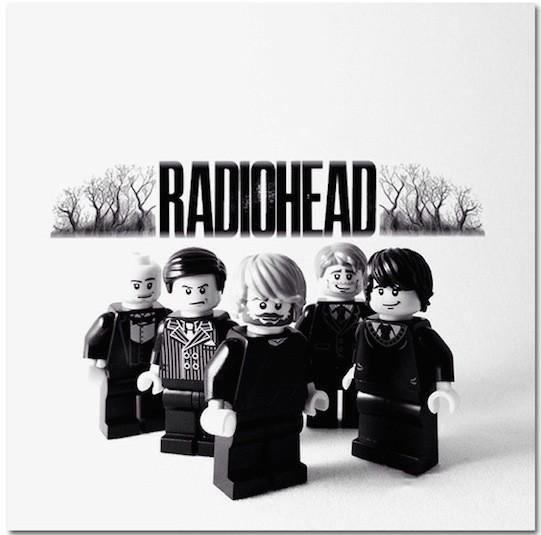 Radiohead z Lego