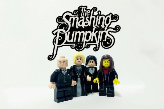 The Smashing Pumpkins z lego