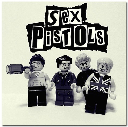 Sex Pistols z Lego