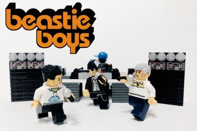 Beastie Boys z Lego