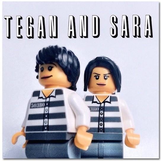 Tegan and Sara z Lego